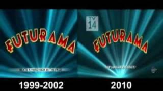Futurama Opening Comparison (1999-2002 & 2010-Present)