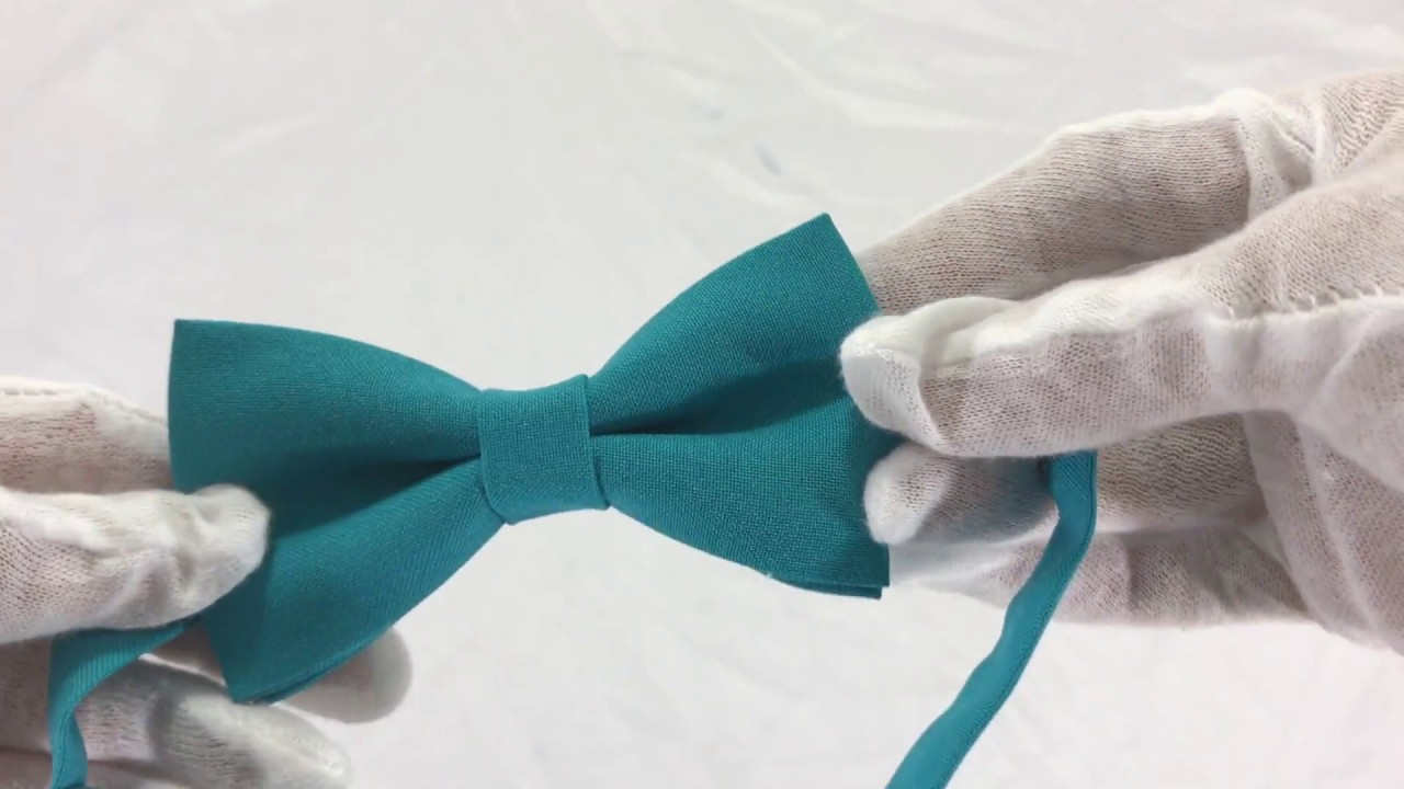 5d6e02a213c0 Bow Tie House Men's Pre-Tied Bow Tie in Classic Gabardine in many solid  colors