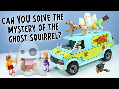 Scooby-Doo Mystery Machine And Ghosts Toy Review - Playmobil Fun!