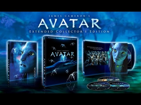 Avatar Extended Collector's Edition Blu Ray 3 Disc Box Set Review