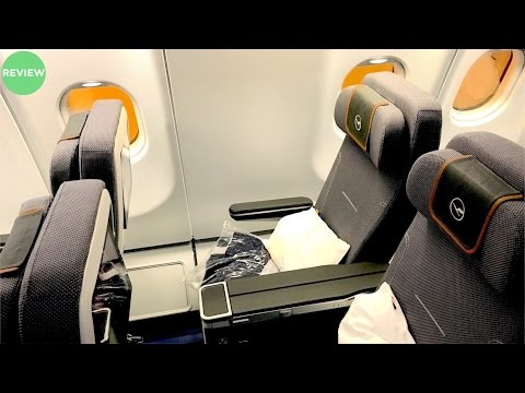 LUFTHANSA A340-600 | PREMIUM ECONOMY REVIEW | MUNICH TO DUBAI