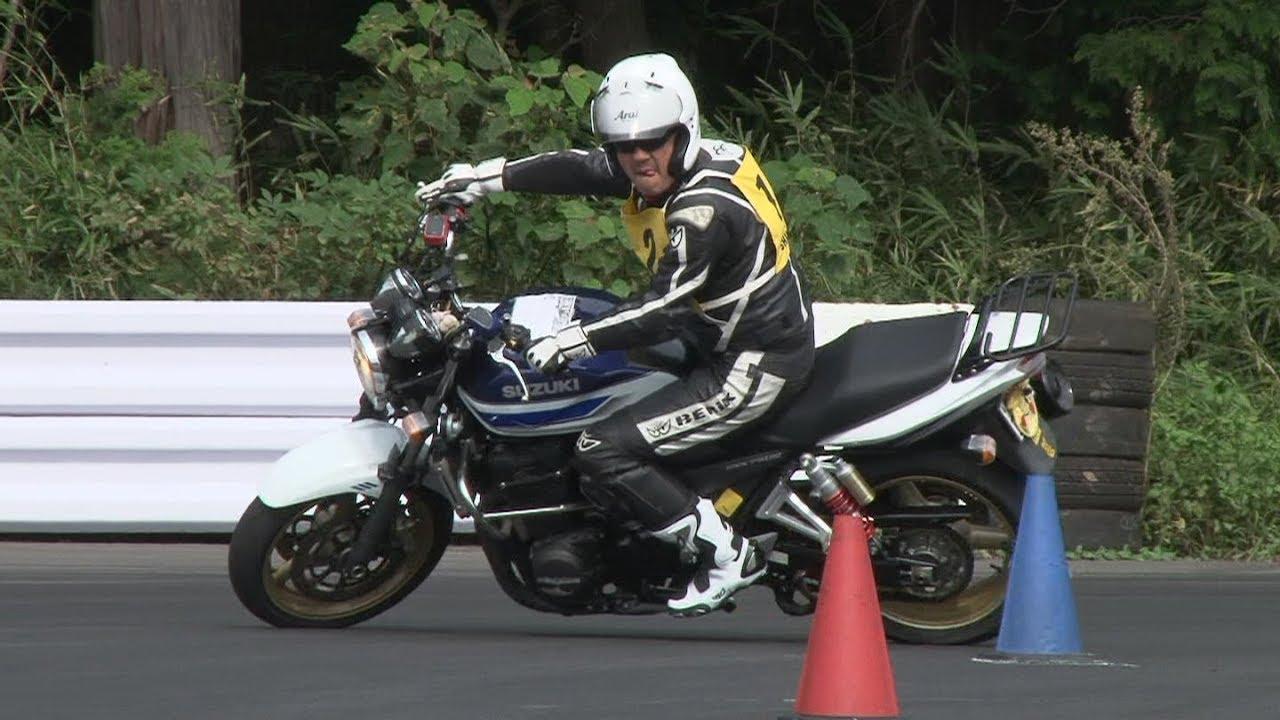 2018 9 16 Dunlop Moto Gymkhana ずるむけ 選手 GSX1400 h 2