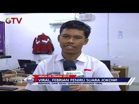 VIRAL! Febrian Firmansyah Mampu Meniru Logat Dan Suara Presiden Jokowi - BIM 29/10