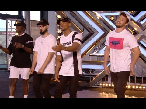 Simon Stops Them, Then Their Original Track Blows Everyone Away! | Audition 1 | The X Factor UK 2017