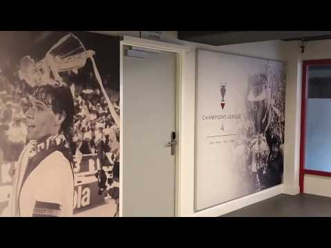 Trip to Amsterdam (Ajax Stadium tour/Ajax museum trophies cabinet) 2/8