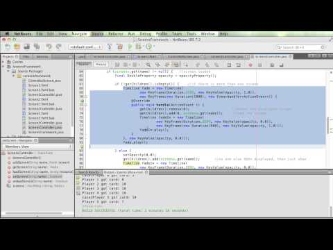 Managing Multiple Screens in JavaFX