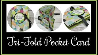 Tri-Fold Pocket Card