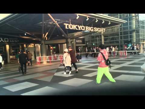 Japan.  Tokyo Motor Show 2015 へ идем