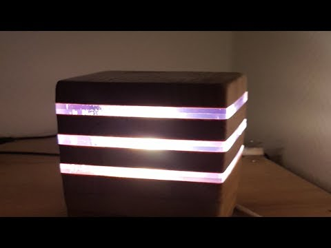 Building a Moderne LED Desk Lamp|| DIY