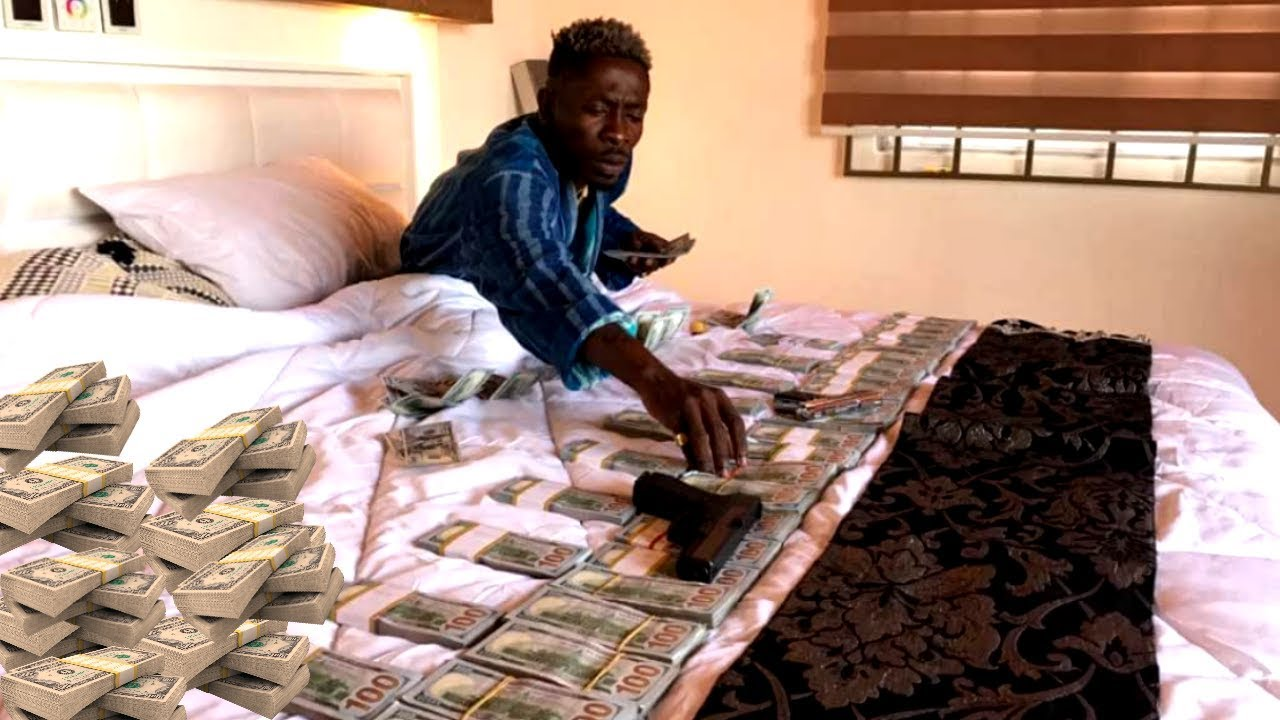 SHATTA WALE Keeps Proving He Is The Richest Musician In Ghana