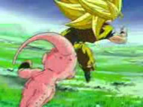 Dragon Ball Z Madimbu Vs Goku Youtube