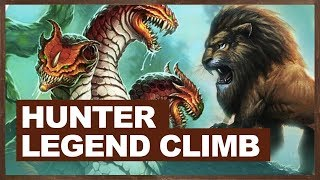 The Midrange Hunter Legend Climb | The Witchwood Hearthstone