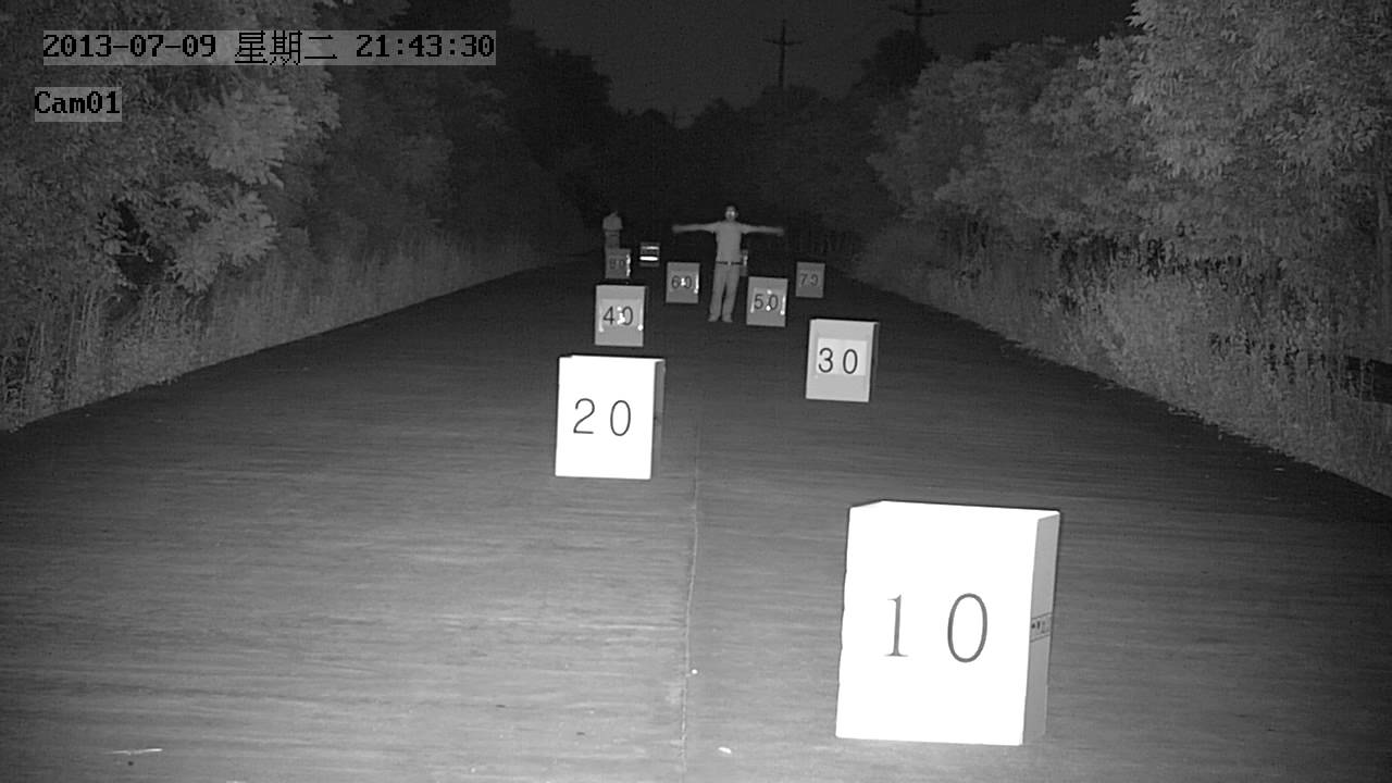 2mp Ip Camera Night Vision Test Youtube