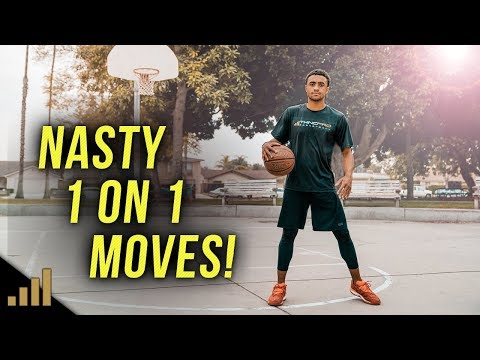BEST 1 ON 1 BASKETBALL MOVES TO BEAT ANYONE!!! (Must See) Simple Scoring Moves