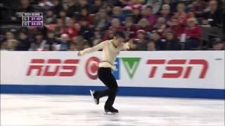 村上大介さんの2015年スケート・カナダ『Bring Him Home』をさらっと観...