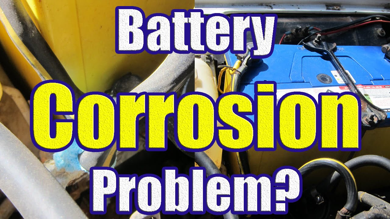Remove Car Battery Corrosion Baking Soda