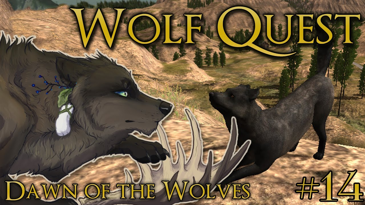 a wolfy moose and the luckiest of rabbit u0027s feet wolf quest