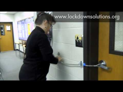 Lockdown Solutions Fast Classroom Security D Ring Option Youtube