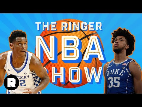 Marvin Bagley vs. Wendell Carter, Plus NCAA Tournament Risers | NBA Draft Class | The Ringer
