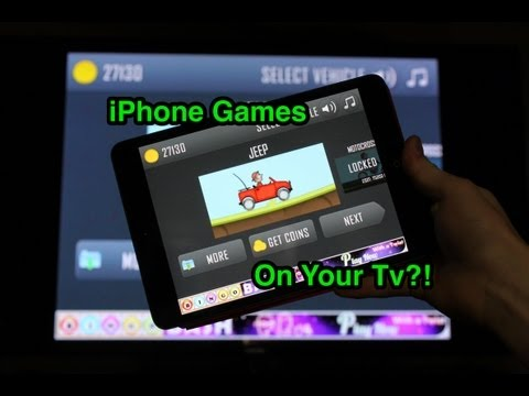 IOS GAMES ON THE TV?! Apple Tv Game Streaming