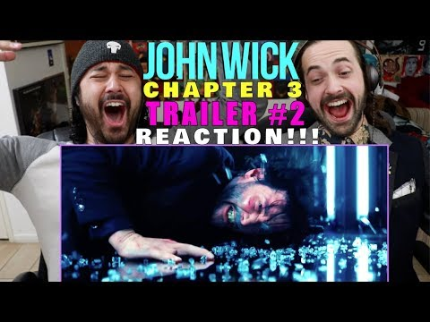 John Wick Chapter 3 Parabellum Trailer 2 Reaction Youtube