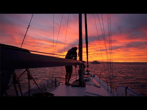 Sailing down the Baja peninsula and around the cape to La Paz