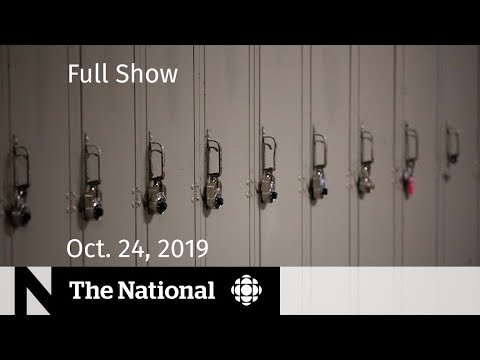 The National for Thursday, Oct. 24  — Violence in schools, Alberta budget, At Issue