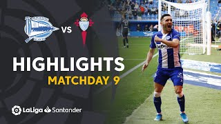 Highlights Deportivo Alaves vs RC Celta (2-0)