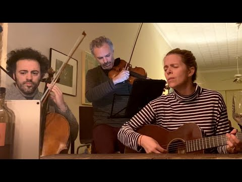 "Live from Home: Aoife O'Donovan, Eric Jacobsen & Colin Jacobsen play ""The Lakes of Pontchartrain"""