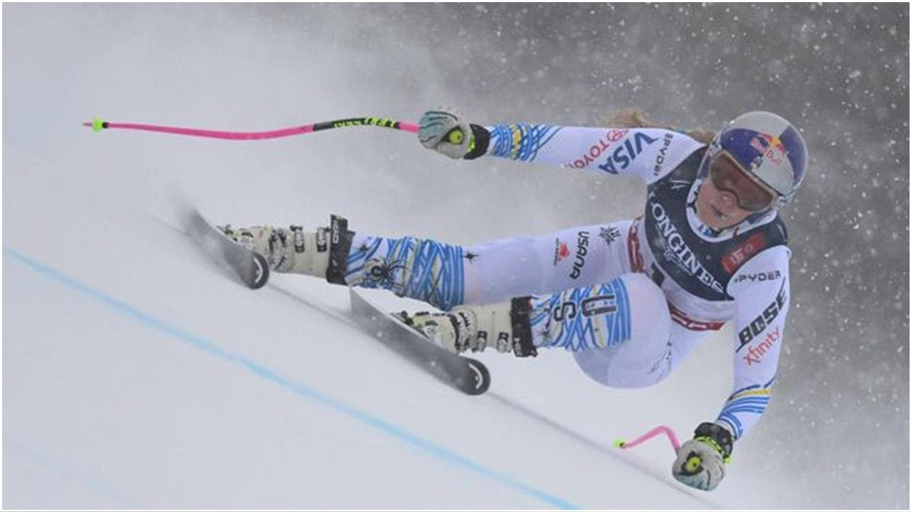 Ski Abfahrt Damen