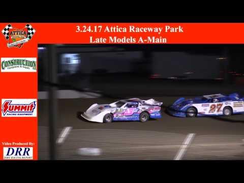3.24.17 Attica Raceway Park Late Models A Main
