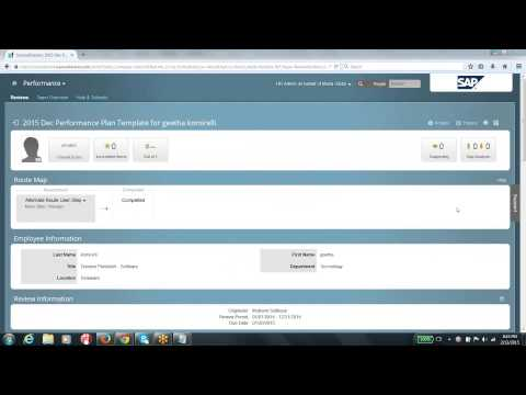 2015 02 13 20 02 SAP Successfactors Online Training Intro Mastery Module