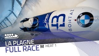 La Plagne | BMW IBSF World Cup 2019/2020 - 4-Man Bobsleigh Heat 1 | IBSF Official