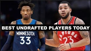 10 Best Undrafted NBA Players Today