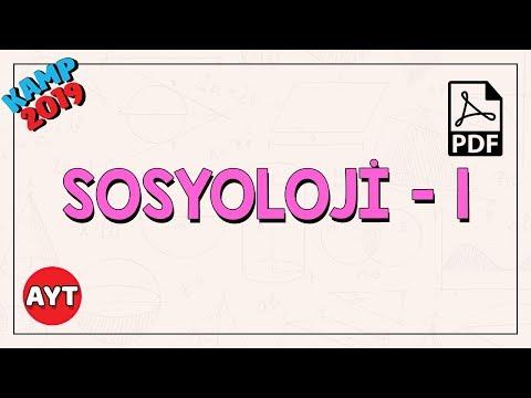 Sosyolojiye Giriş - 1   AYT
