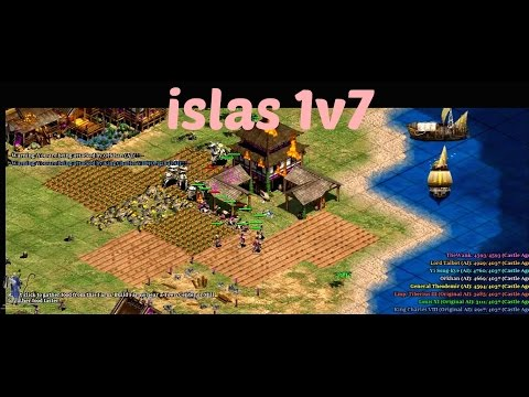 1vs7 Islands Age of Empires 2 (Part 1)
