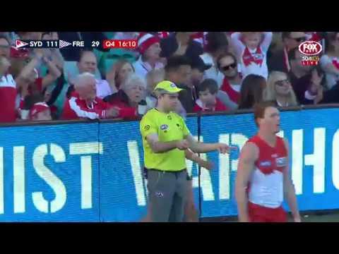 Round 21 AFL - Sydney Swans v Fremantle Highlights
