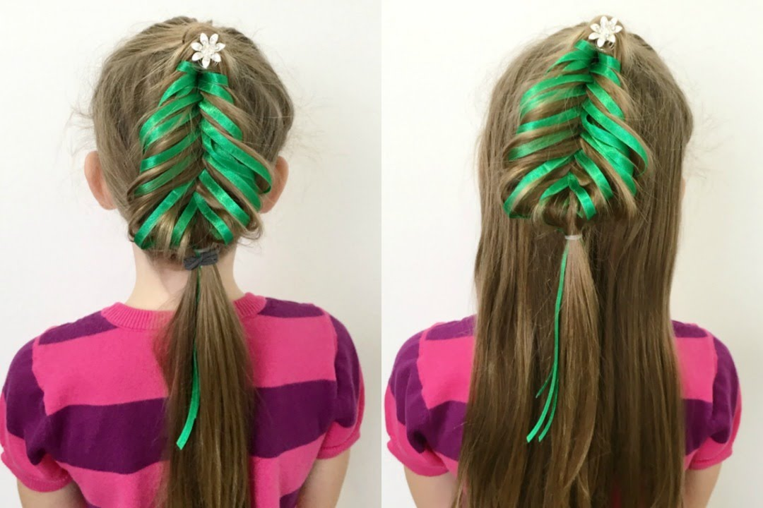 Hair Styles For Braids Pictures: Fishtail Christmas Tree Braid