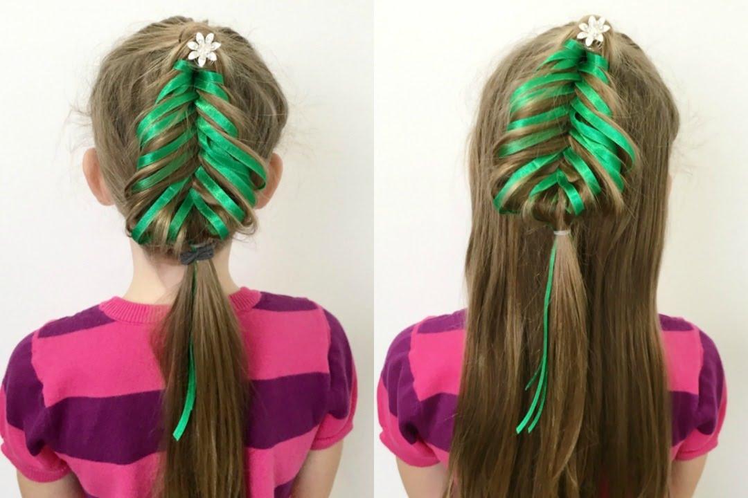 fishtail christmas tree braid