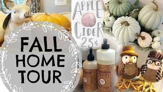 2018 FALL HOME TOUR // SIMPLE FALL DECOR // FARMHOUSE FALL TOUR