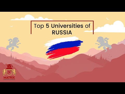 Top 5 Universities in Russia for International Students
