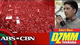 Mga tao dagsa na sa Luneta