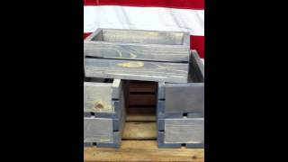 Mini Wooden Crates | 14 Color Options | Free Shipping | The Best Wood Crates