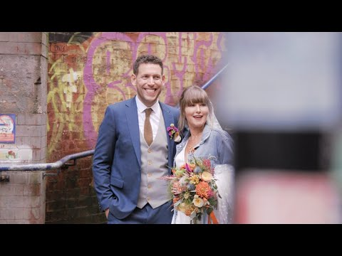 Michaela & Dean's Wedding Video at Brickhouse Social, Manchester City Centre.