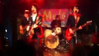 2012年2月26日、難波Meleでのライブ。