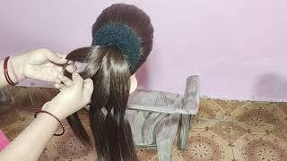 Easy Wedding Juda || Hairstyle for Wedding || New Idea for Making Juda/Bun