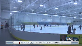 Local group pushing for indoor ice rink