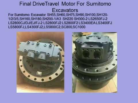 doosan excavator hydraulic travel motor final drive daewoo solar 55 v  plus,dh55