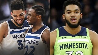 Karl-anthony Towns Involved In Car Crash