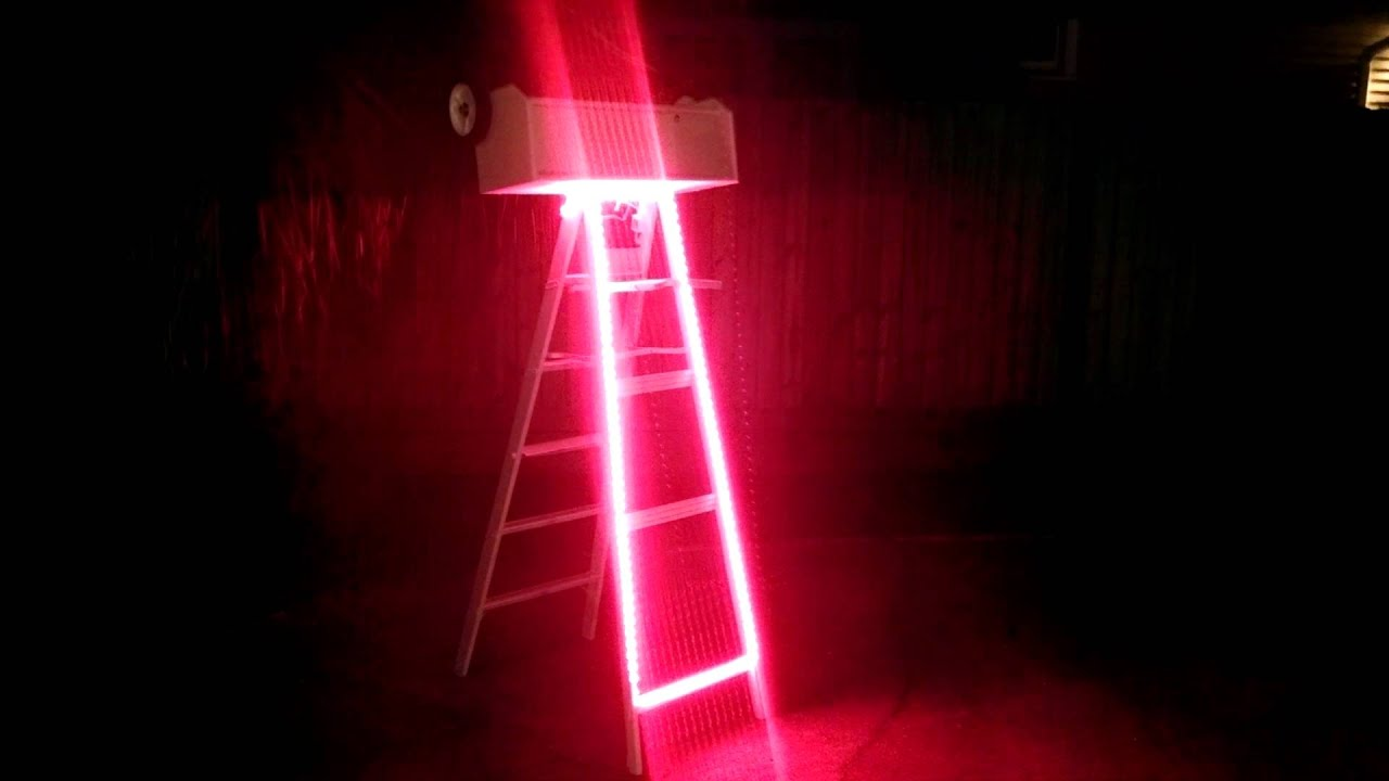 Led Mardi Gras String Lights : Mardi Gras Ladder LED Lights - YouTube